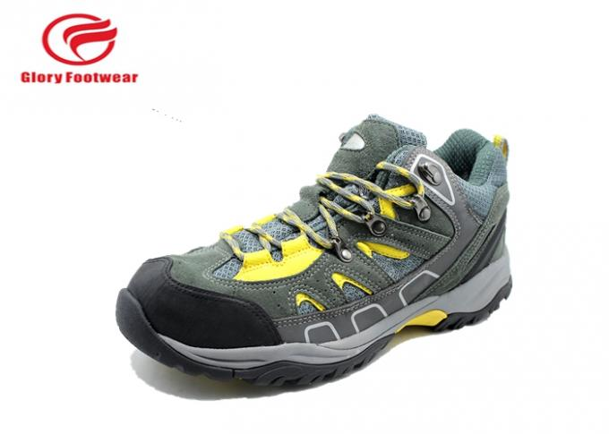 Cemented Grey Lightweight Steel Toe Boots , Sports Lightweight Steel Toe Cap Trainers