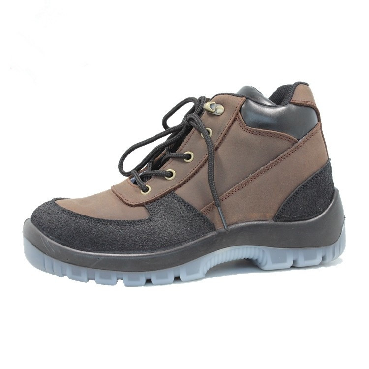 4e8ccd3e4d8 Injection pu/pu with steel toe cap genuine leather safety shoes