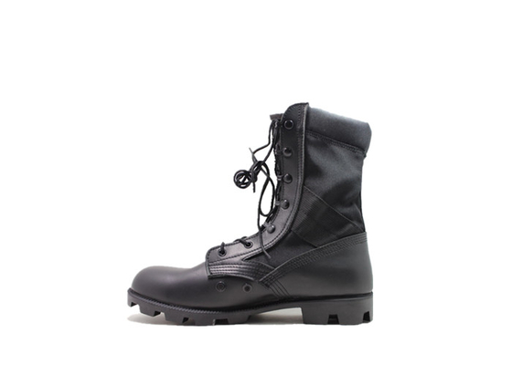 China Genuine Leather Military Combat Boots , DMS Black Tactical Steel Toe Combat Boots Desert distributor
