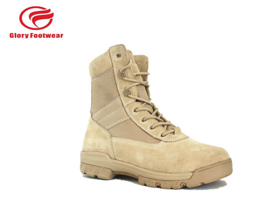China Paratrooper Stylish Lightweight Steel Toe Military Boots With Outsole Rubber distributor