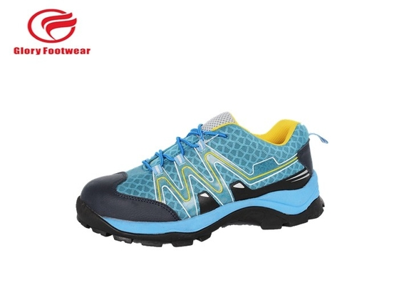 China Breathable LightWeight Steel Toe Boots , Steel Toe Running Shoes With Rubber Sole distributor