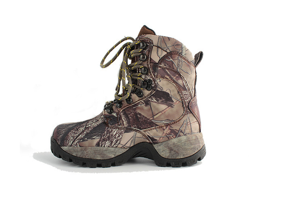 China 8 Inch Autumn Waterproof Hunting Boots , Anti Slip Insulated Snake Proof Hunting Boots distributor