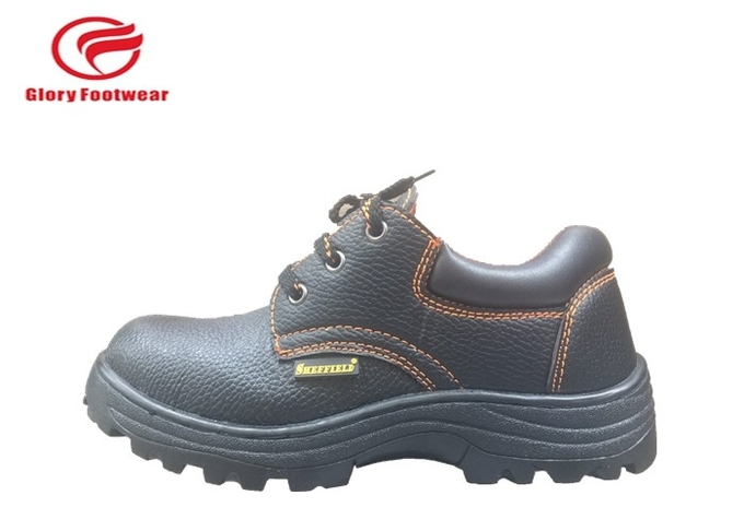 Embossed Split Constructive lightweight Steel Toe Cap Trainers For Industrial Use